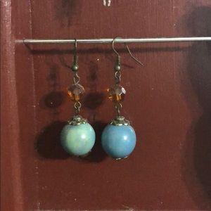 Jewelry - ✨ FREE W BUNDLE Light weight blue stone earrings